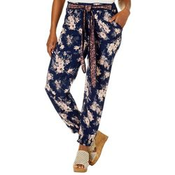 Star of India Womens Floral Tie Waist Soft Pants