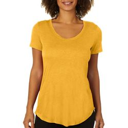Femme Womens Heathered V-Neck T-Shirt