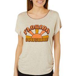 Vanilla Sugar Womens Florida Sunshine Ruched T-Shirt