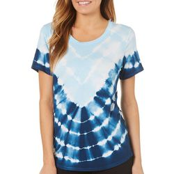 Ava James Womens Tie Dye T-Shirt
