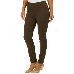 Sound Style Womens Lucy Solid Pull On Jeggings