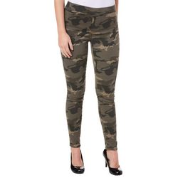 Sound Style Womens Camo Print Pull On Jeggings