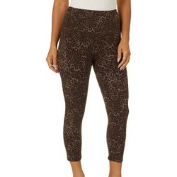 Khakis & Co Missy Suave Cheetah Print Leggings