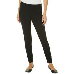 Khakis & Co Womens Suave Solid Leggings