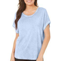 CG Sport Womens Solid Short Sleeve Dolman Top