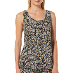 Vero Moda Womens Simply Easy Floral Sleeveless Top