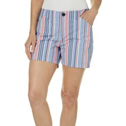 Lee Womens Stripe Print Chino Shorts