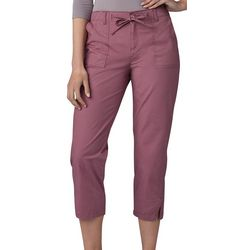 Lee Womens Solid Utility Pull On Capris