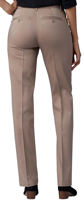 Motion Lee Pants Leg Flex Womens Solid Straight w7qBU