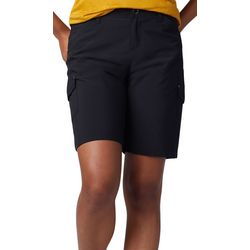 Lee Womens Flex-To-Go Performance Twill Cargo Bermuda Shorts