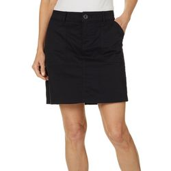 Lee Womens Solid Regular Fit Skort