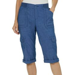 a59f6f061af Lee Womens Relaxed Cargo Skimmer Capris