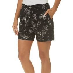 Lee Womens Kinsey Floral Print Shorts