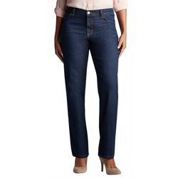 Lee Womens Relaxed Straight Leg Jeans