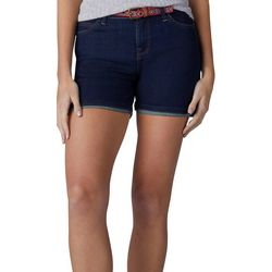 Lee Womens Belted Cora Shorts