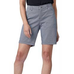 Lee Womens Medallion Print Regular Fit Chino Bermuda Shorts