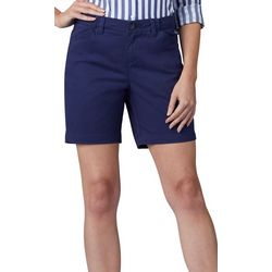 Lee Classic Womens Solid Chino Walking Shorts