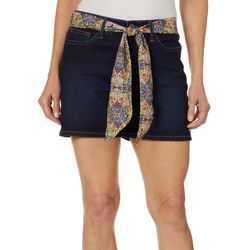 Lee Womens Flex Motion Belted Regular Fit Shorts