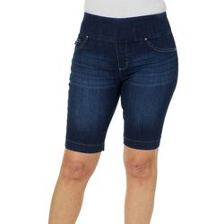 Lee Womens Sculpted Pull On Bermuda Shorts