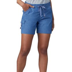 Lee Womens Regular Fit Drawstring Cargo Shorts