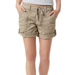 Supplies by Unionbay Womens Marty Twill Roll Cuff Shorts
