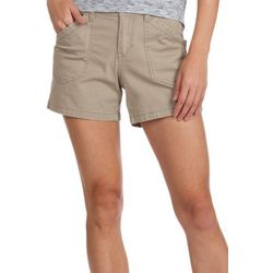 Supplies by Unionbay Womens Alix Solid Shorts