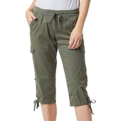 Supplies by Unionbay Womens Devora Convertible Cargo Capris