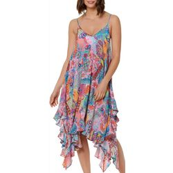 Bleu Rod Beattie Womens Here Comes The Sun Dress Cover-Up