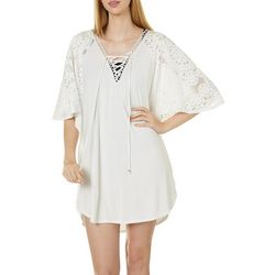Wearabouts Womens Marrakesh Medallion Swim Cover-Up