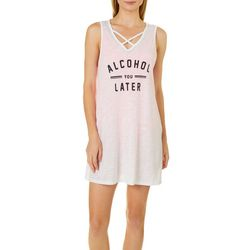 Miken Womens Alcohol You Later Swim Cover-Up
