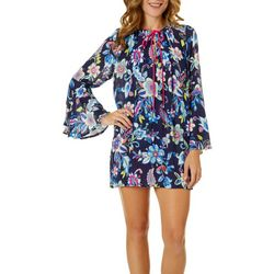 Anne Cole Signature Womens Holding Paisley Cover-Up