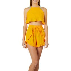 Salt & Jade Womens Get Your Ray On 2-pc. Swim Cover-Up Set