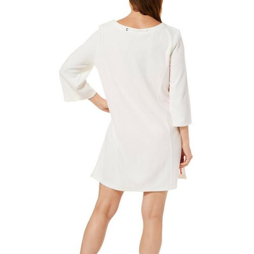 7df5238575 Paradise Bay Womens Solid Split Neck Terry Dress Cover-Up | Bealls ...