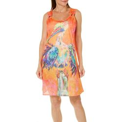 Leoma Lovegrove Womens Nit Picker Ring Dress Cover-Up
