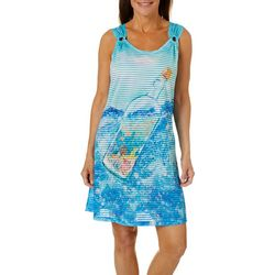 Leoma Lovegrove Womens Bottled In Florida Cover-Up