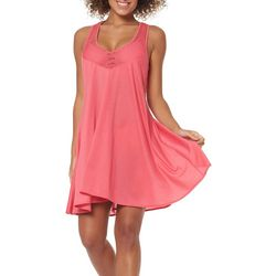 Skechers Womens Core Solids Free Spirit Swim Cover-Up