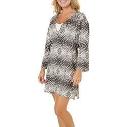 Pacific Beach Womens Pool Party Tunic Cover-Up