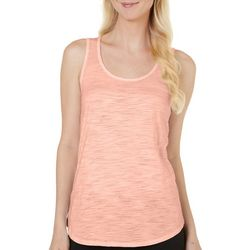 Dept 222 Womens Scoop Neck Luxey Tank Top