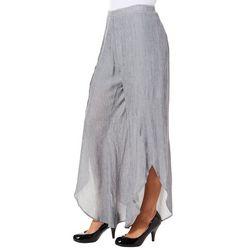 Dept 222 Womens Vintage Garden Wide Leg Soft Pants
