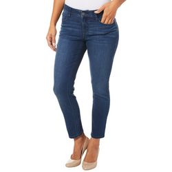 Dept 222 Womens Whiskered Denim Jeans