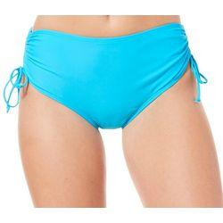 Ocean Avenue Womens Solid High Waist Swim Bottoms