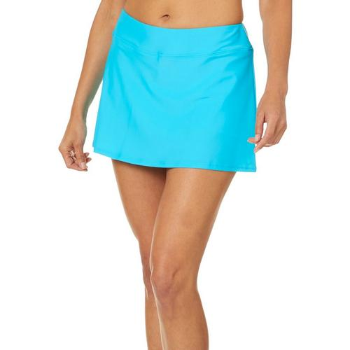 1eade1302317e Ocean Avenue Womens Solid Swim Skort   Bealls Florida