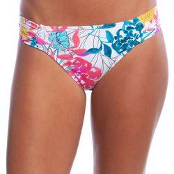 Reaction Womens Paint The Garden Hipster Swim Bottoms