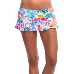 Reaction Womens Paint The Garden Swim Skirt