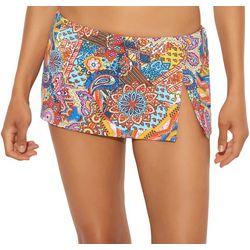 Bleu Rod Beattie Womens Groovy Baby Swim Skirt