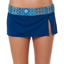Bleu Rod Beattie Womens Beach Please Swim Skirt
