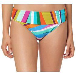 Bleu Rod Beattie Womens Bold Strokes Fold Over Swim Bottoms