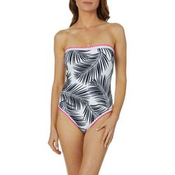 Aqua Couture Womens Forever Fronds One Piece Swimsuit