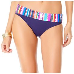 Anne Cole Signature Womens Retro Braided Swim Bottoms