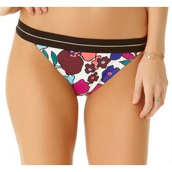 Cole of California Womens Cali Floral Hipster Swim Bottoms